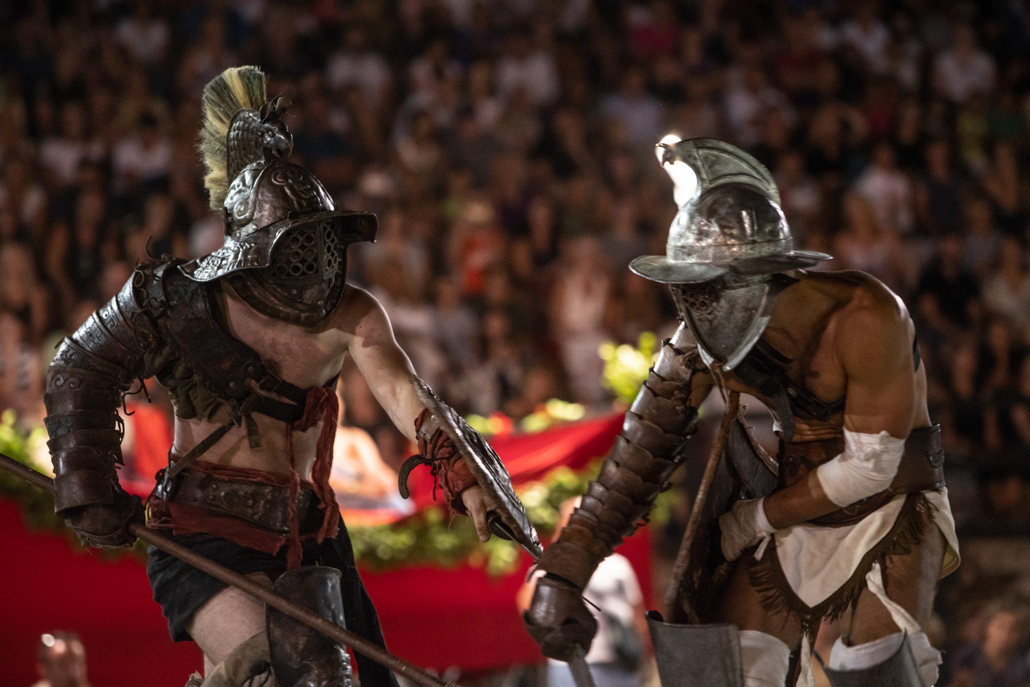 De gladiatoren komen!