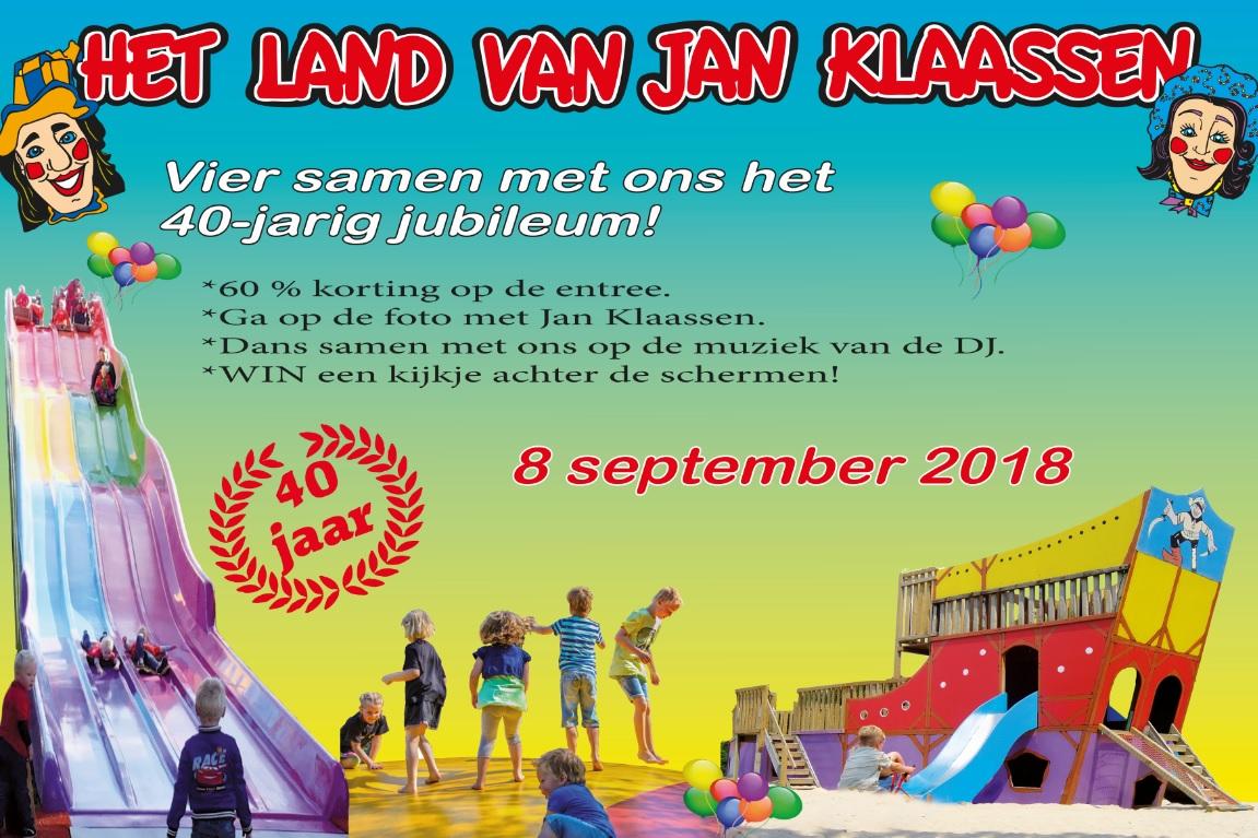 Jubileumdag Het Land van Jan Klaassen