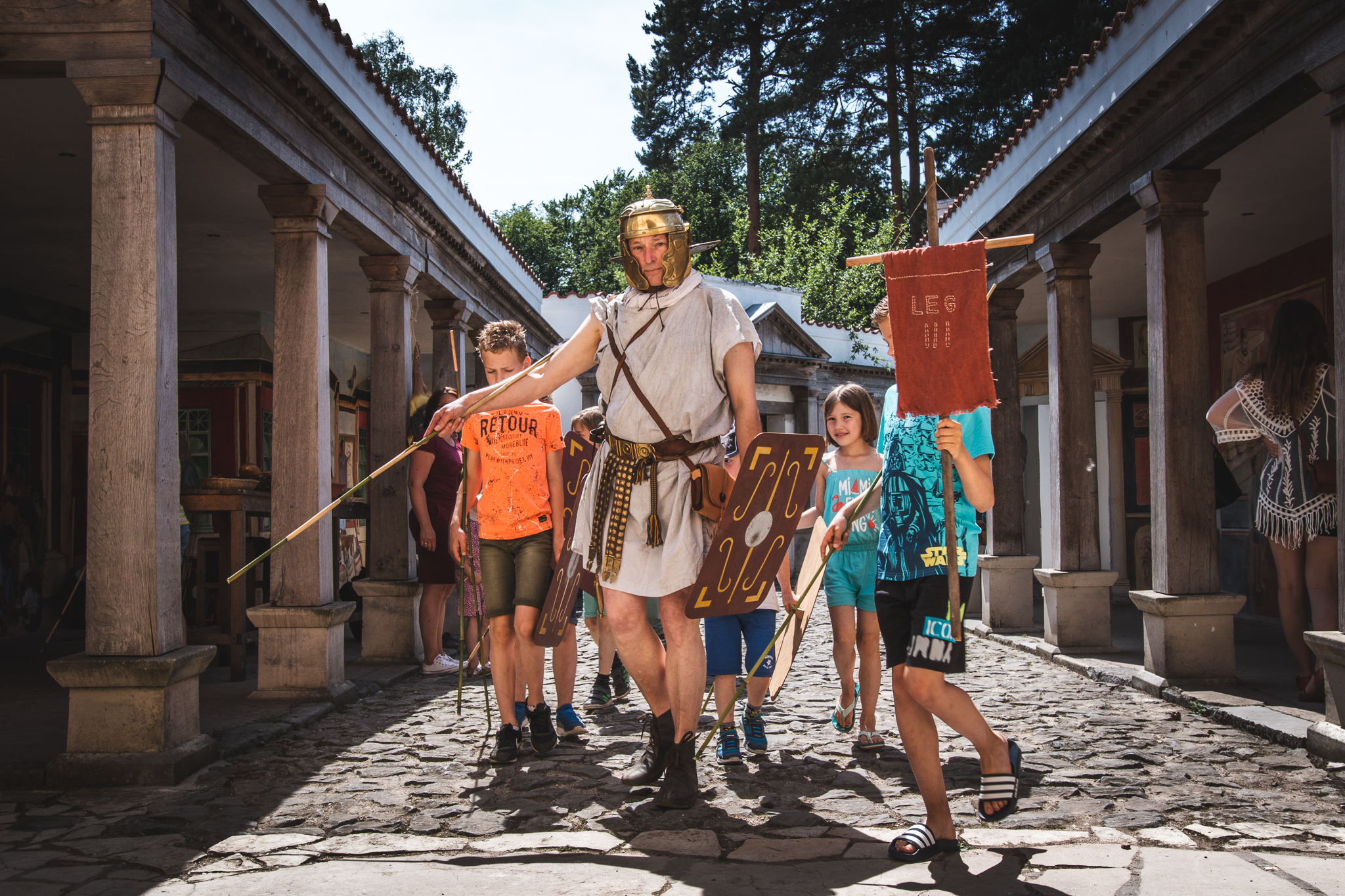 Via Romana Festival; spetterend Romeins spektakel